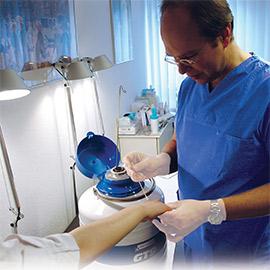 Krioterapia - lecznicze działanie zimna -portal medyczny