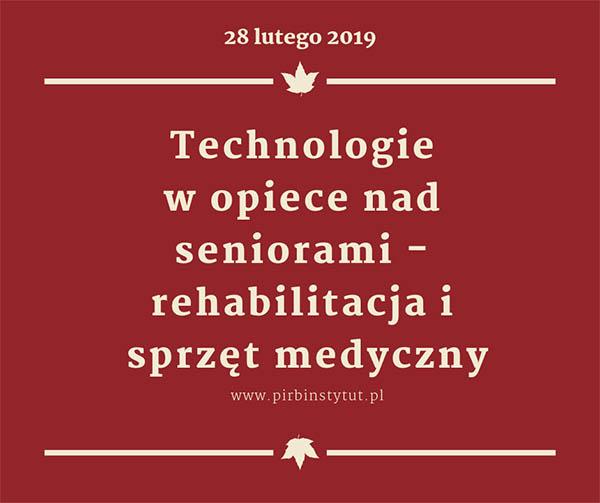 """Konferencja """"Technologie w opiece nad seniorami - rehabilitacja i sprzęt medyczny"""" -portal medyczny"""