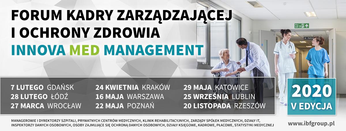 V Forum Kadry Zarządzającej  w Ochronie Zdrowia